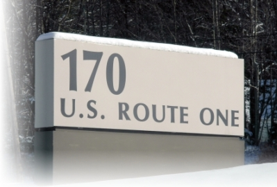 Mason Associates, Inc. Road Sign